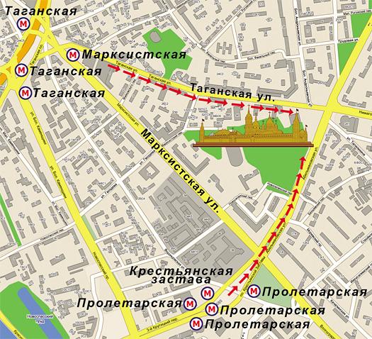 Схема проезда (с сайта