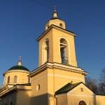Храм на территории Даниловского кладбища в Москве