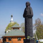 Памятник Матроне Московской-Себинской