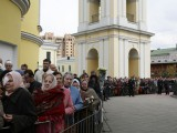 ОчередОчередь к мощам святой Матроны Московь к мощам
