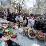 Освящение яиц и куличей (6)