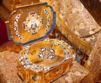 Ковчег святой Матроны Московской