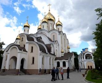 Храм святой Матроны Московской