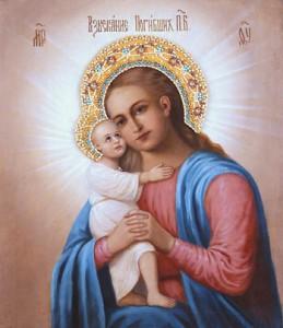 Теперь эта икона Божией Матери находится в Москве, в Покровском женском монастыре.