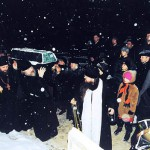 Изнесение мощей блаженной старицы Матроны. Полночь 8 марта 1998 года.