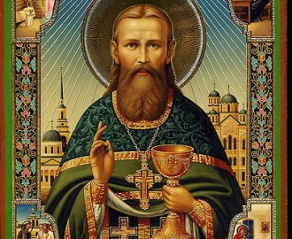 Икона Иоанн Кронштадский