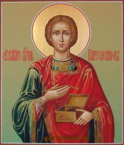 Икона Пантелеимон Целитель