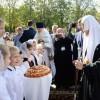 Святейший Патриарх Кирилл освятил храм Матроны Московской в Дмитровском города Москвы